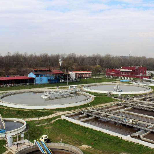 Kujawy Waste Water Treatment Plant